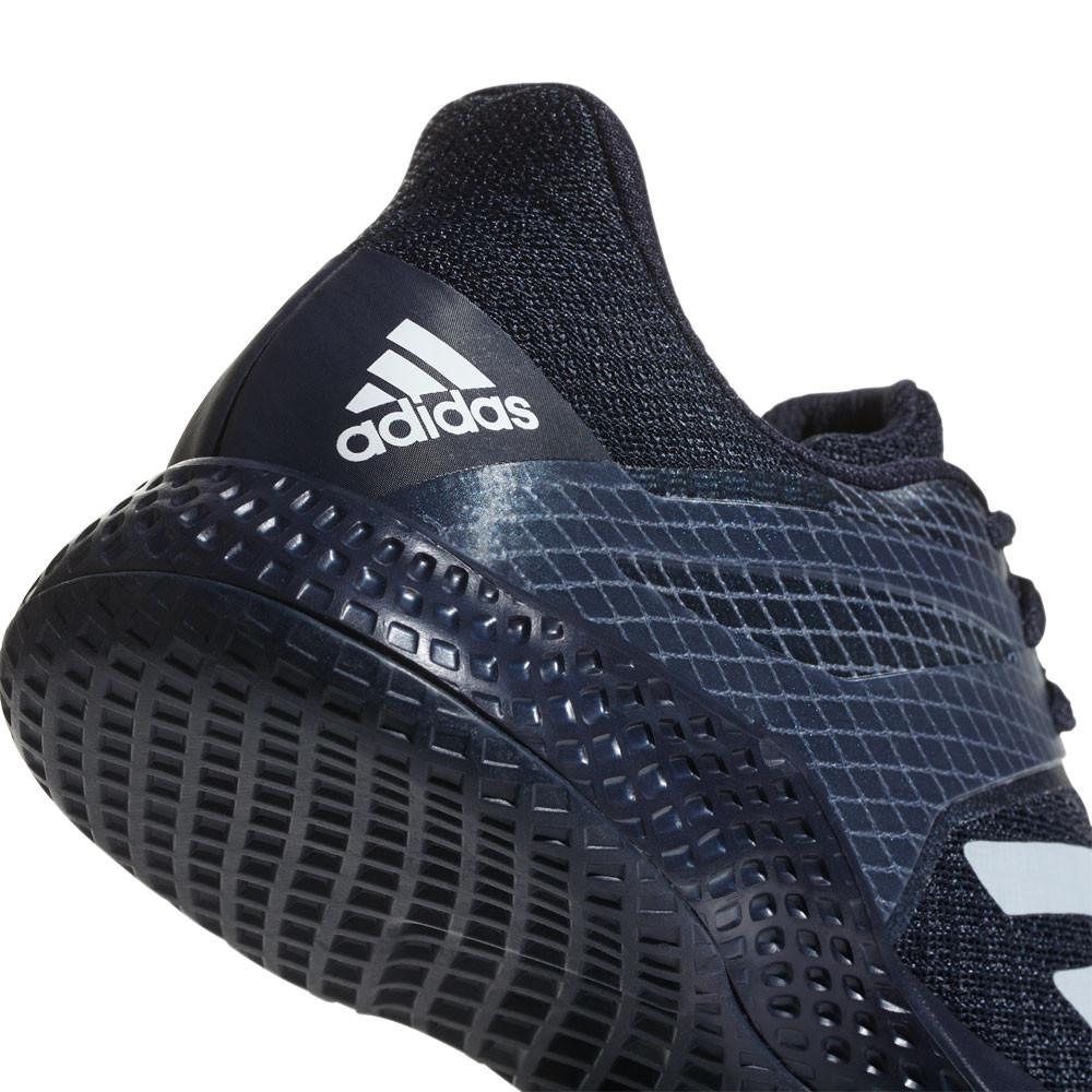 huge discount 6584a 3299d adidas Herren adizero Club 2 Tennis Sneaker Tennisschuhe Hallenschuhe  Marineblau