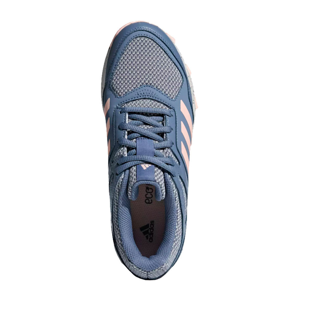 Details about adidas Womens Fabela Rise Hockey Shoes Pitch Field Blue Pink Sports Breathable