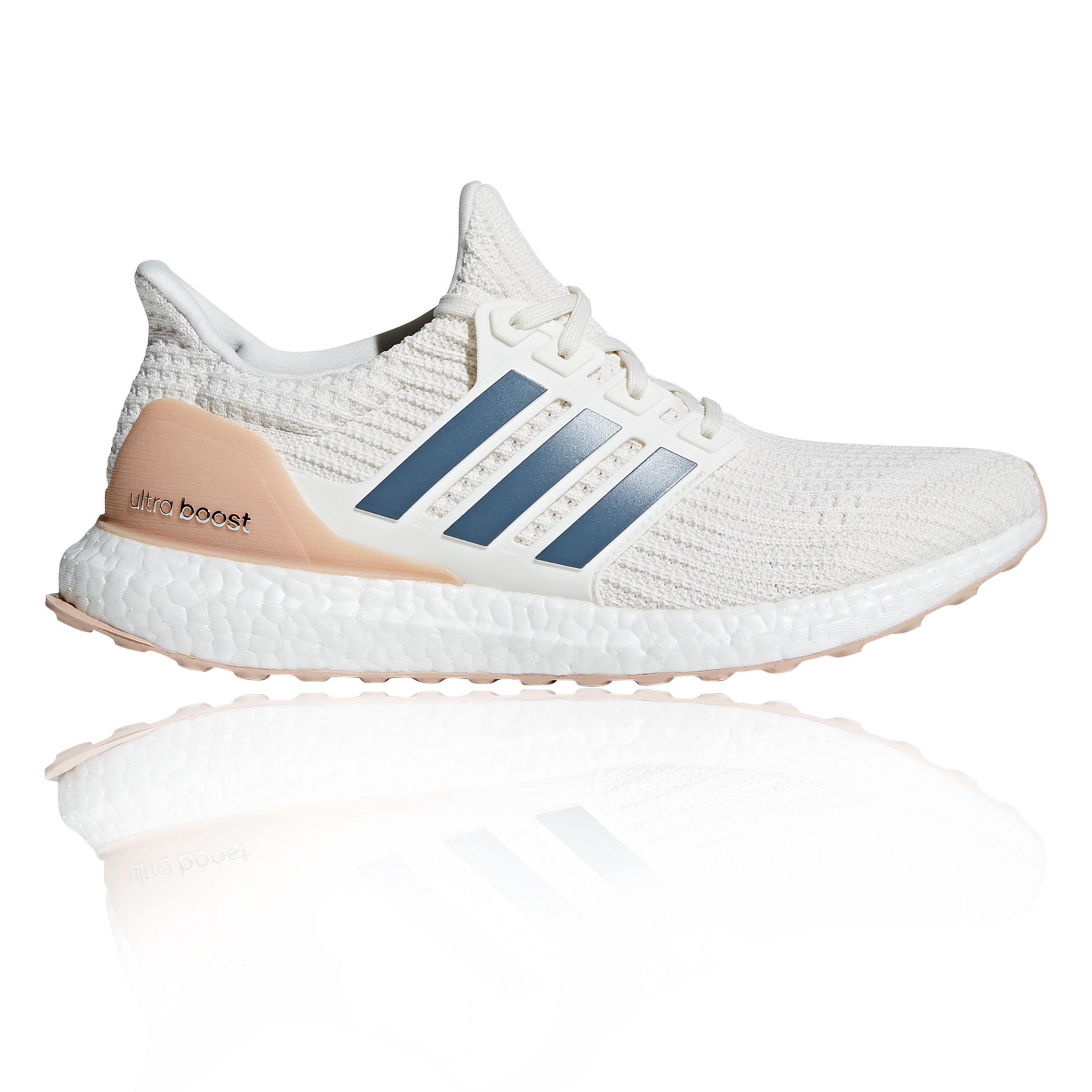 b8eb20b1a Details about adidas Mens UltraBOOST Running Shoes Trainers Sneakers White  Sports Breathable