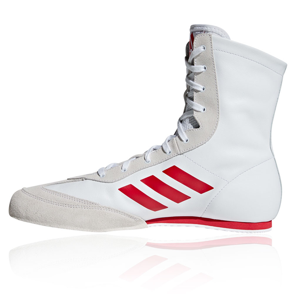 Details about adidas Mens Box Hog X Special Boxing Shoes White Sports Lightweight Trainers