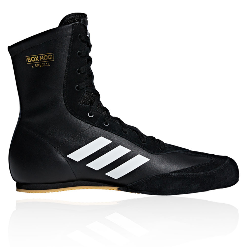 Details about adidas Mens Box Hog X Special Boxing Shoes Black Sports Lightweight