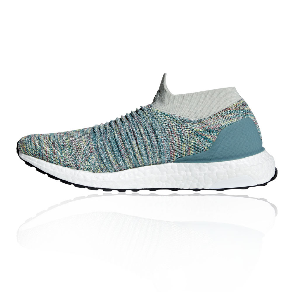 2026a00ba23 adidas Mens UltraBOOST Laceless Running Shoes Trainers Sneakers Blue Sports