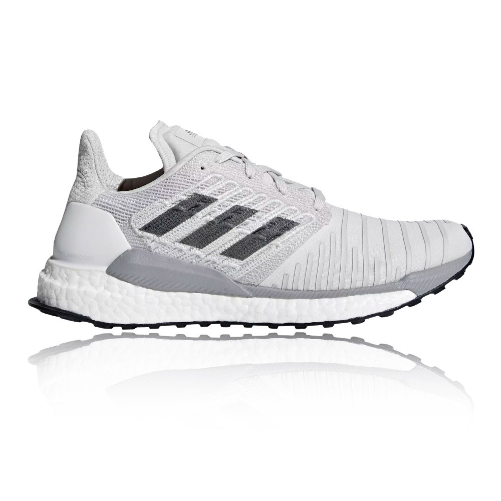 half off fa182 1f82c Adidas Mujer Solarboost Correr Zapatos Zapatillas Blanco Deporte  Transpirable