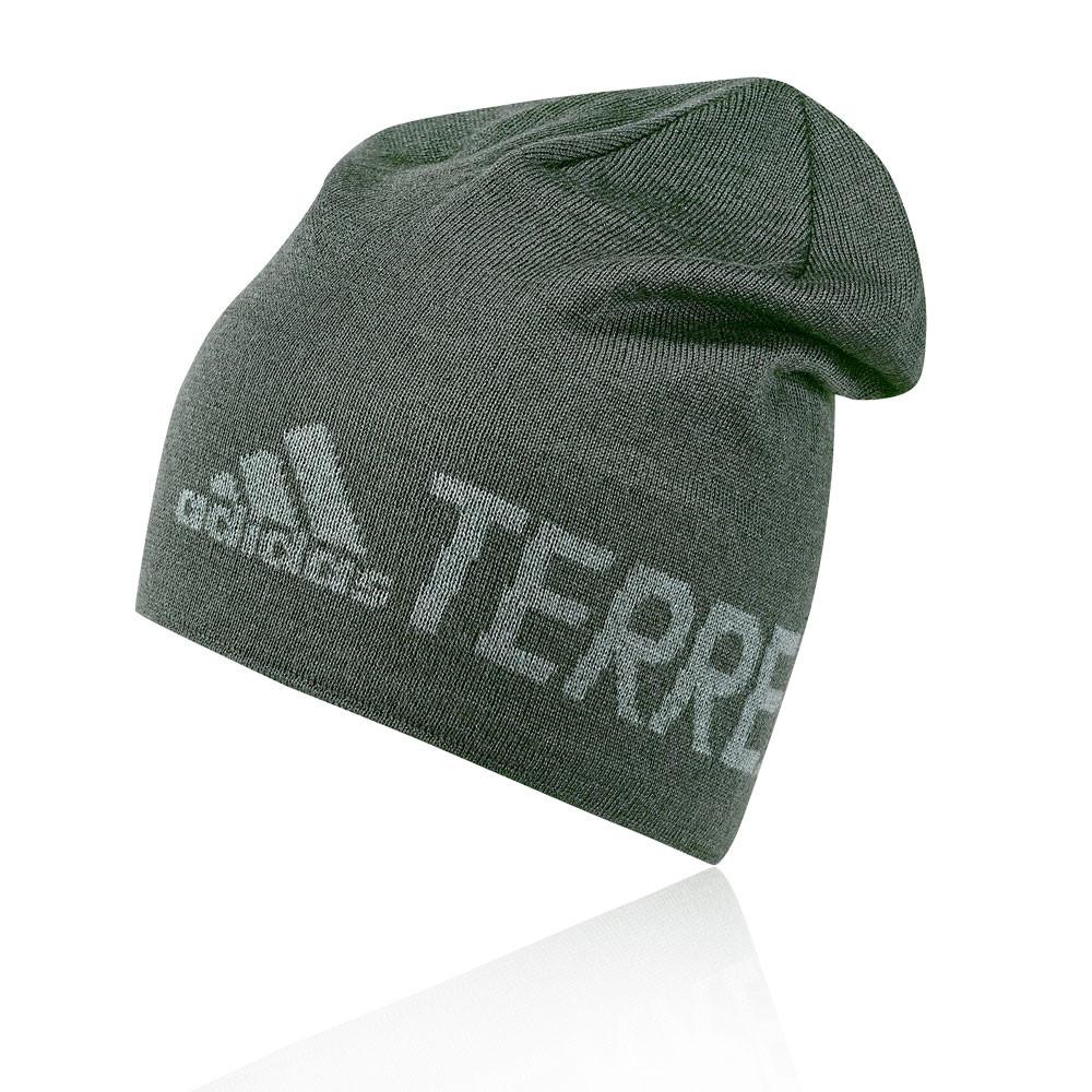 Details about adidas Unisex Terrex Logo Beanie Green Sports Running  Breathable Lightweight a7a30c5f25a