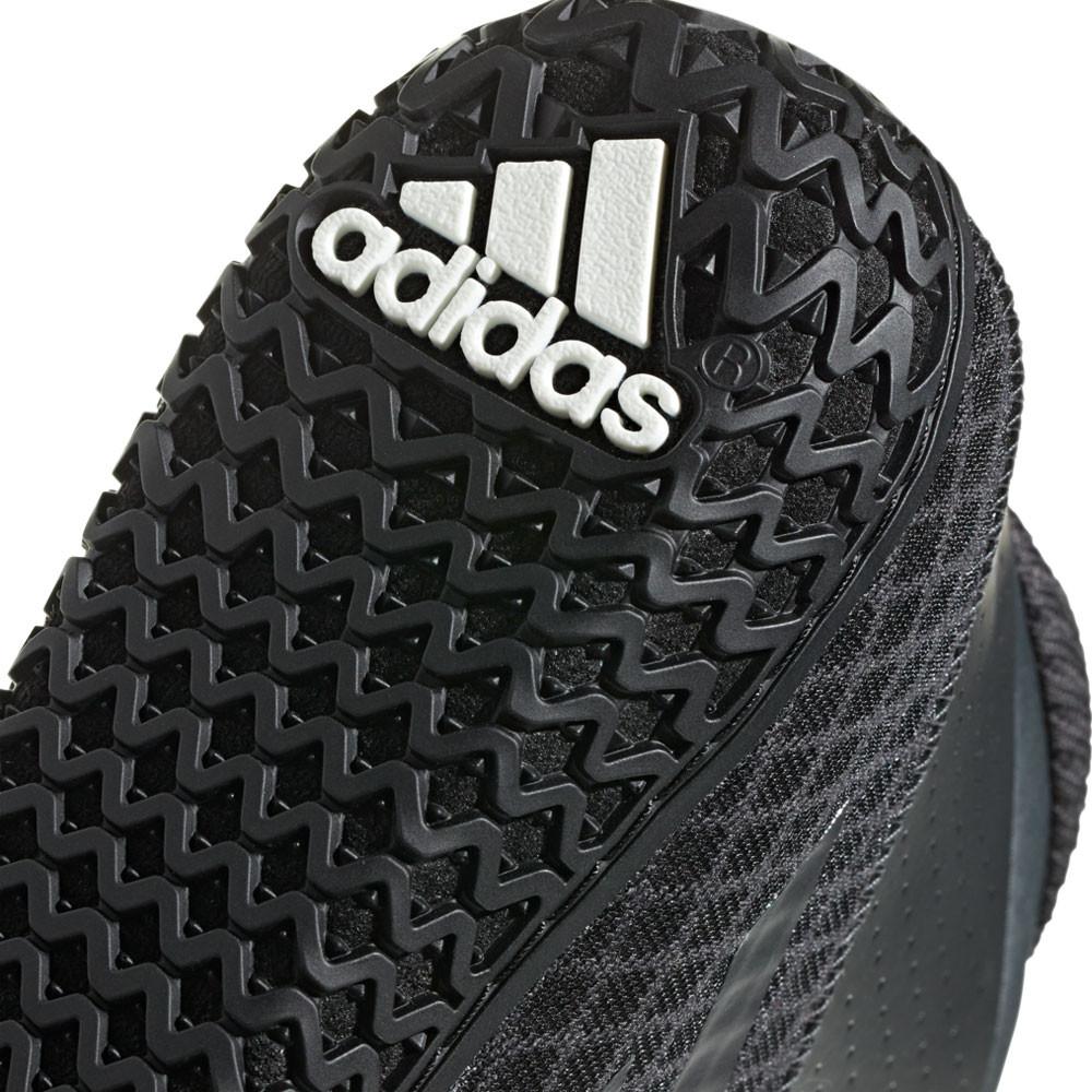 557111cadb6628 adidas Mens Mat Wizard 4 Wrestling Shoes Black Sports Gym Breathable  Lightweight