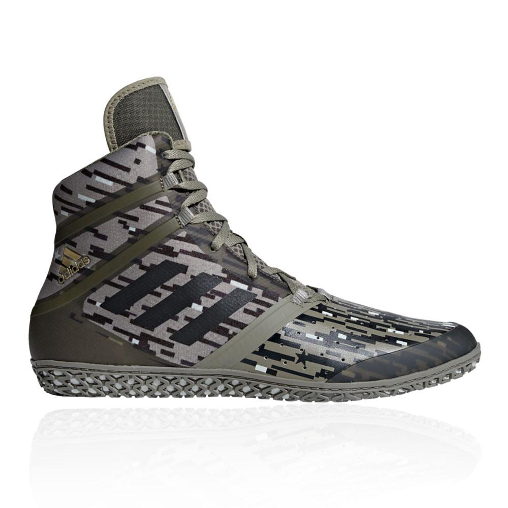 brand new a6b74 11a50 ... cheapest adidas herren flying impact wrestling schuhe ringerschuhe grün  sport ringen 702a6 0cbc0