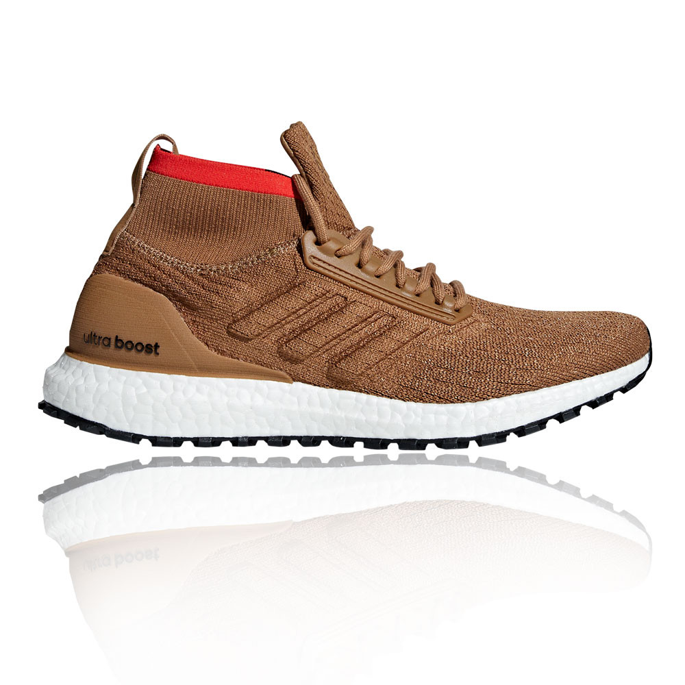 new style 8d858 6f18e For the athletes who crave versatile comfort in a raw, weather-resistant  design, choose the adidas UltraBoost All Terrain.