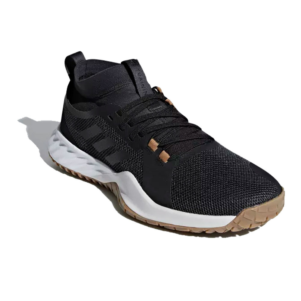 check out 67c7a cb16d adidas Mens Crazytrain Pro 3.0 TRF Running Shoes Trainers Sneakers Black  Sports