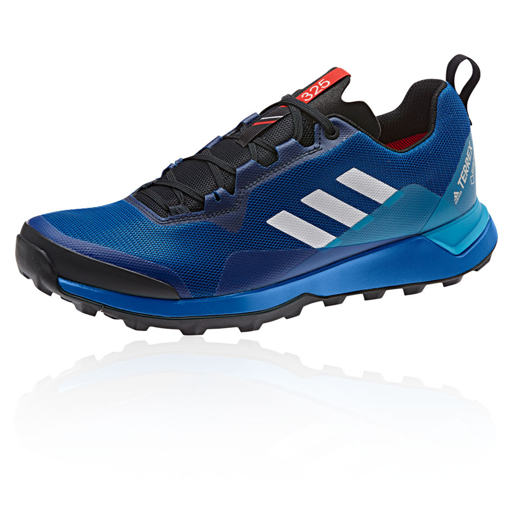 promo code 64c92 4fe59 adidas Mens Terrex CMTK GORE-TEX Trail Running Shoes Trainers Sneakers Blue