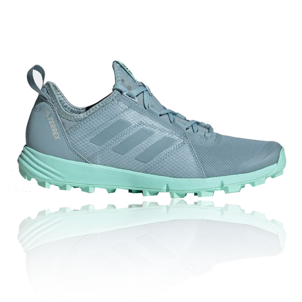 low priced fef26 36d1b Details about adidas Womens Terrex Agravic Speed Trail Running Shoes  Trainers Sneakers Blue