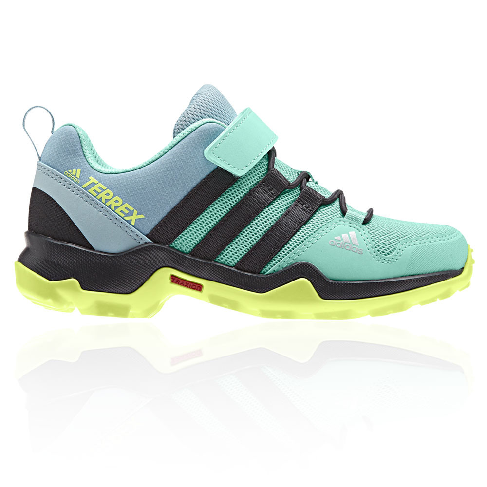 dac751d5f0f6 Details about adidas Junior Terrex AX2R CF Walking Shoes Green Grey Sports  Outdoors Breathable