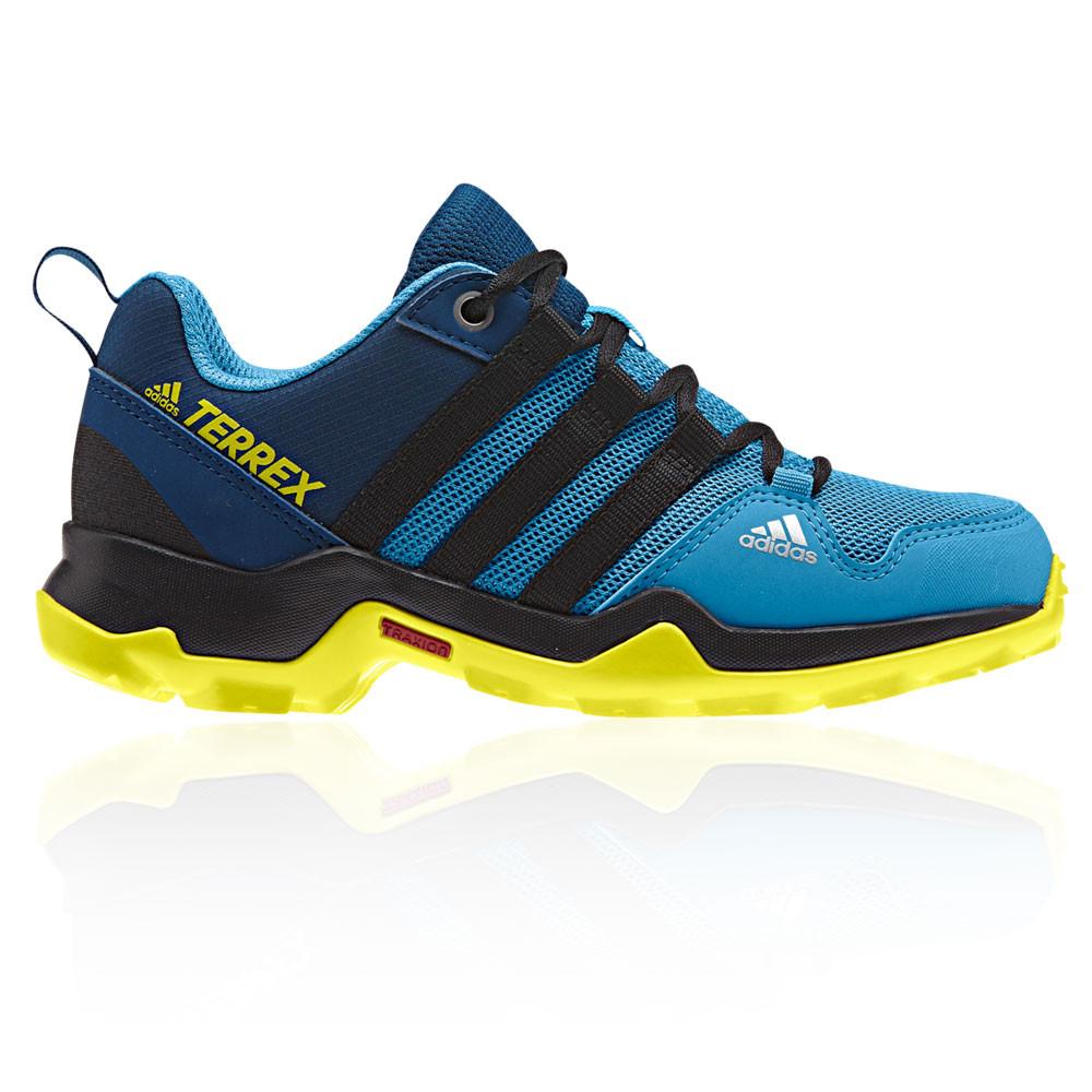 adidas Junior Terrex AX2R Walking Shoes Blue Sports Outdoors ... 3389c7a1b68