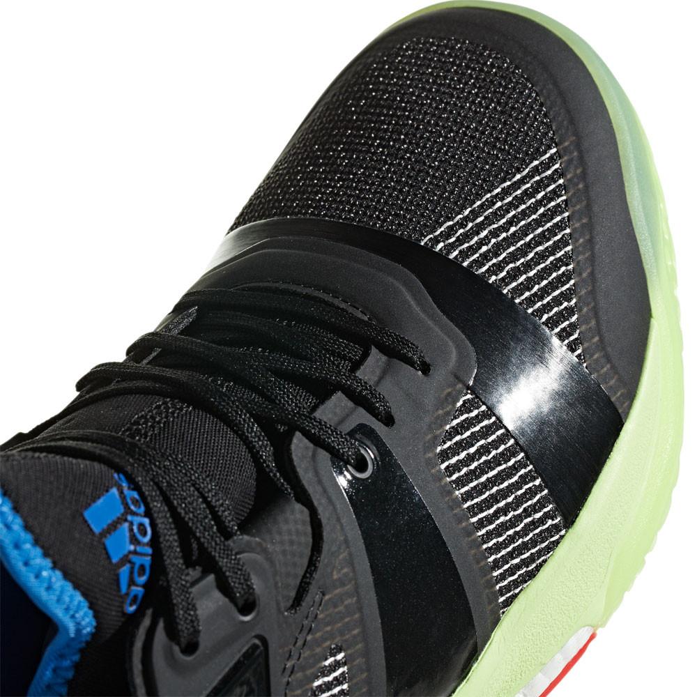 Détails sur Adidas Hommes Stabil X Chaussures De Sport En Salle Baskets Noir Badminton