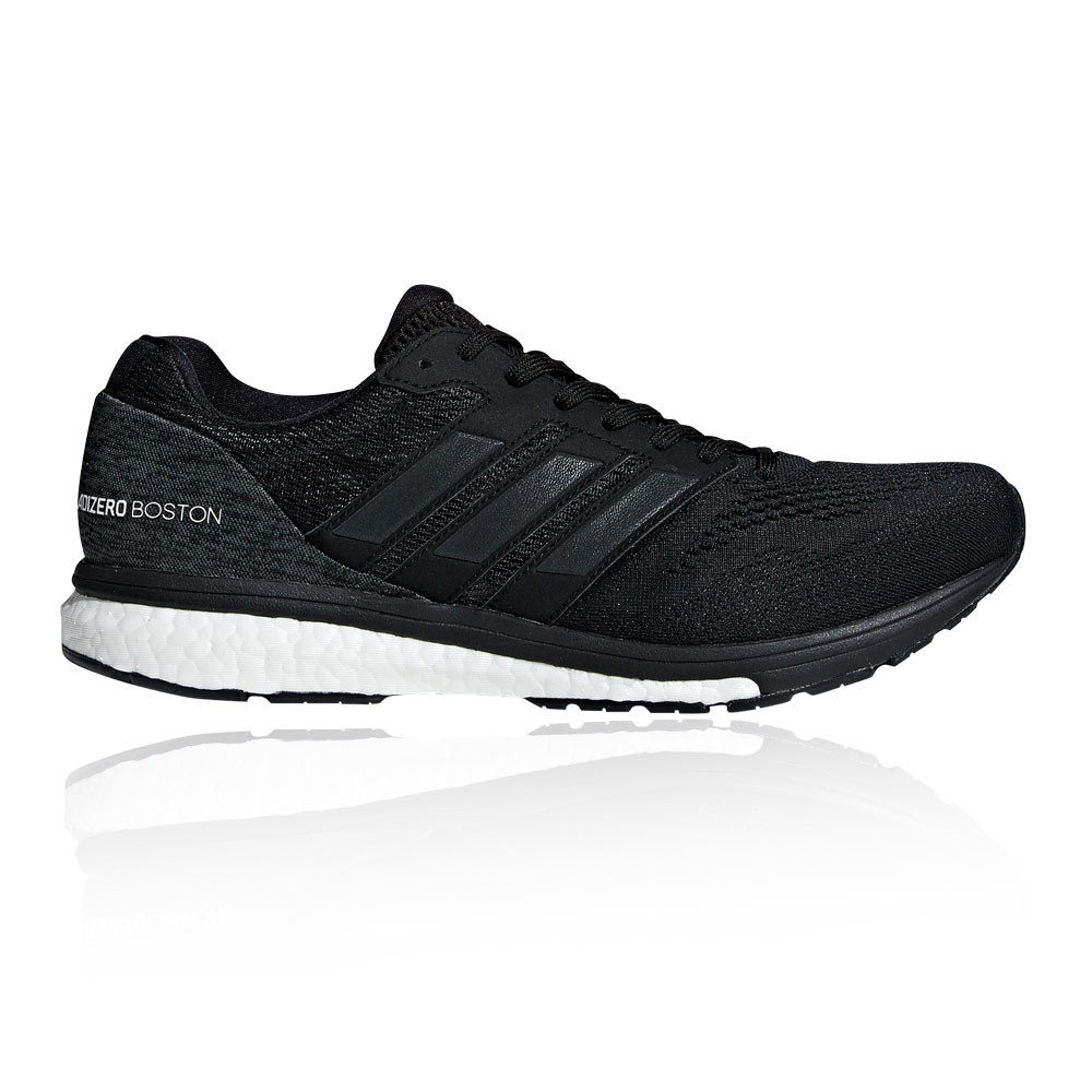b1f2ef1bf76d Details about adidas Mens Adizero Boston 7 Running Shoes Trainers Sneakers  Black Sports