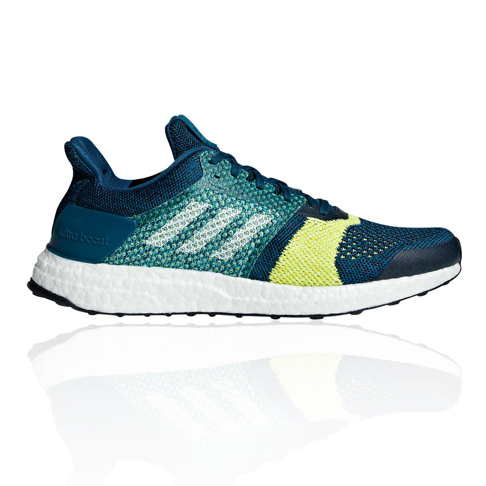 872c0f33b3a Details about adidas Mens UltraBOOST ST Running Shoes Trainers Sneakers Blue  Yellow Sports