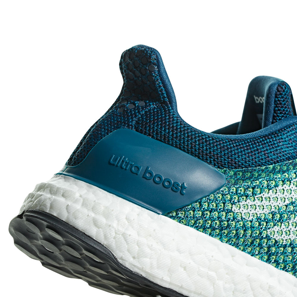 official photos 21fb2 59e12 adidas Mens UltraBOOST ST Running Shoes Trainers Sneakers Blue Yellow Sports