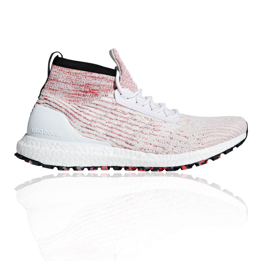 15a65086d4180 adidas Mens UltraBOOST All Terrain Running Shoes Trainers Sneakers Pink  White
