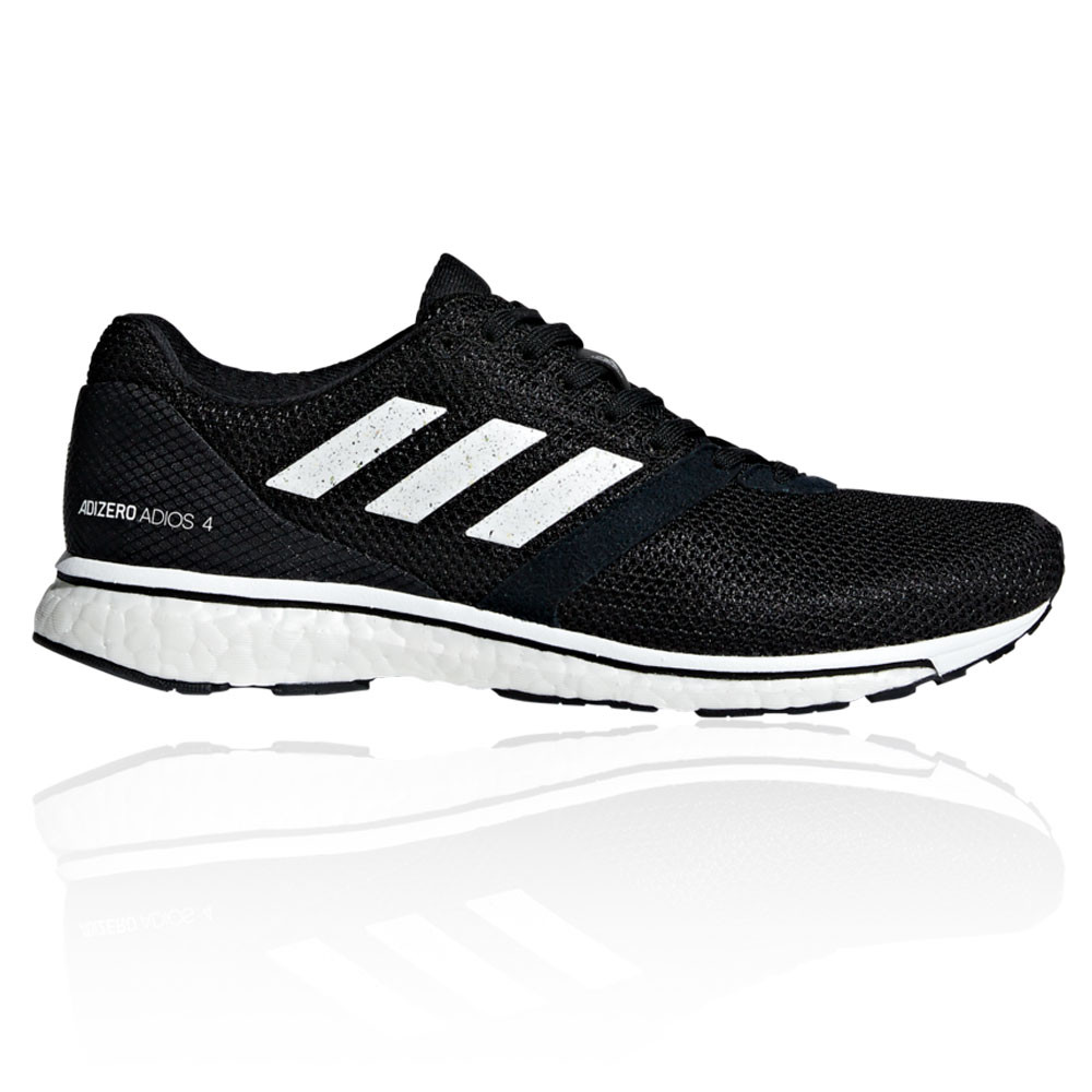 Details about adidas Womens Adizero Adios 4 Running Shoes Trainers Sneakers  Black Sports