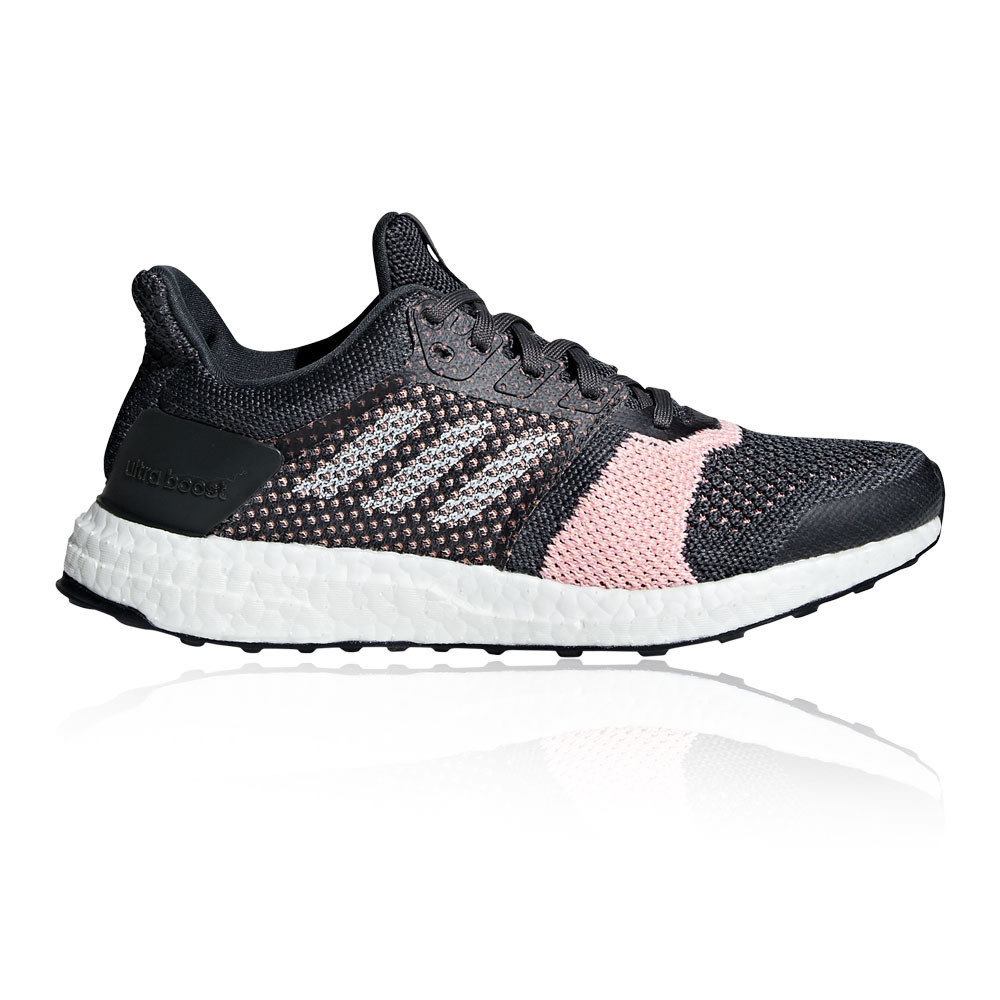 the best attitude 6f9ee 792e2 Details about adidas Womens UltraBOOST ST Running Shoes Trainers Sneakers  Black Sports