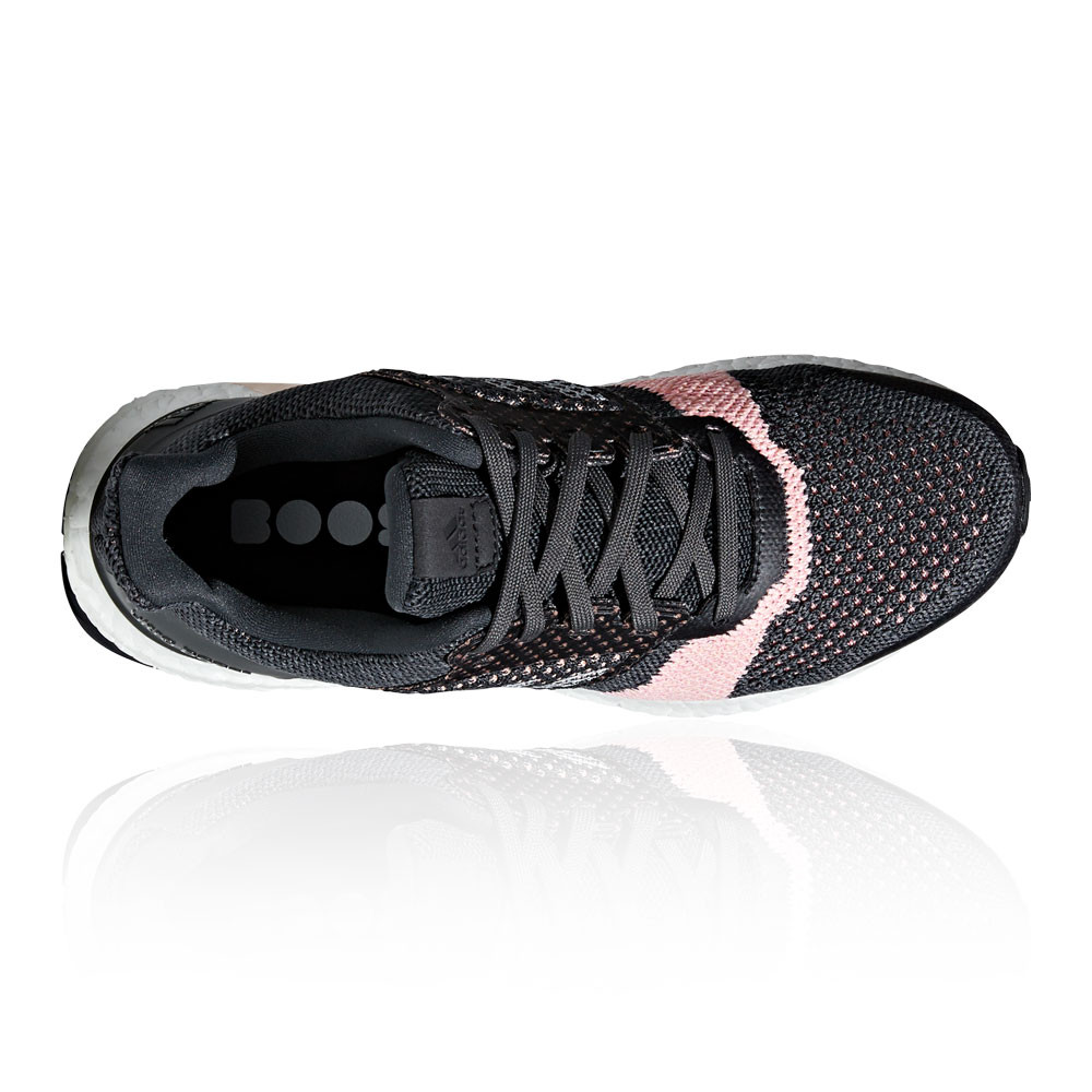 official photos fc7dd 8aa64 adidas Womens UltraBOOST ST Running Shoes Trainers Sneakers Black Sports