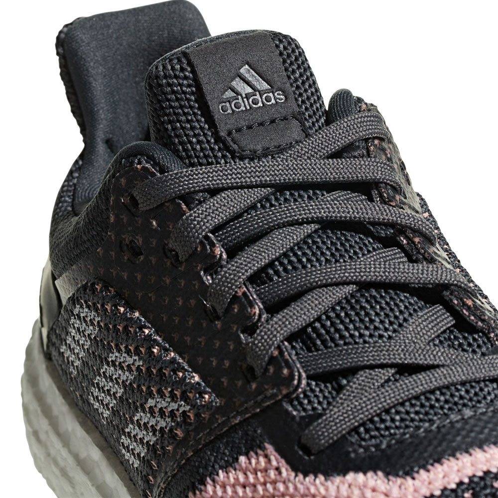 7b13b345661 adidas Womens UltraBOOST ST Running Shoes Trainers Sneakers Black Sports