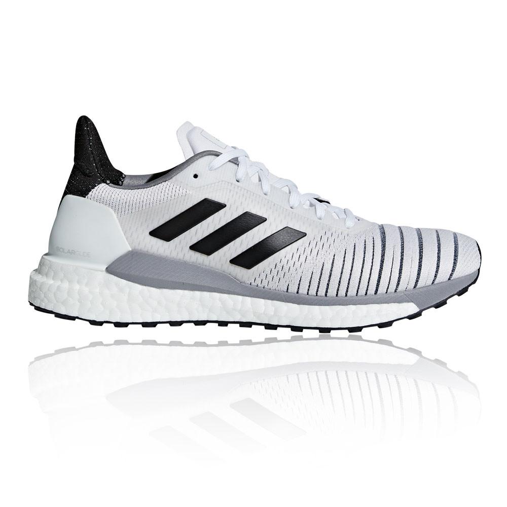 premium selection 16a91 ea277 Adidas Mujer Solar Glide Correr Zapatos Zapatillas Blanco Deporte Running