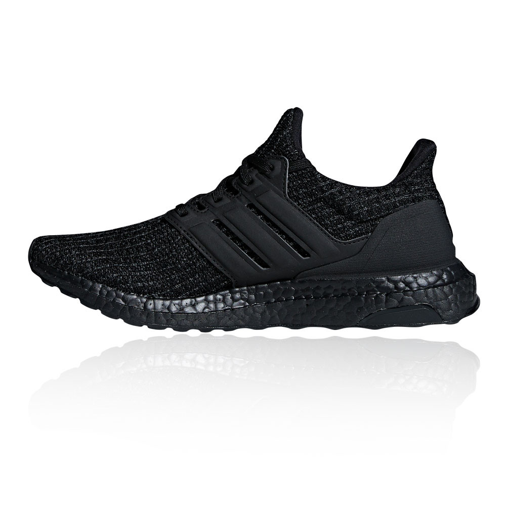 0346c8b3e580 adidas Womens UltraBOOST Running Shoes Trainers Sneakers Black Sports  Breathable