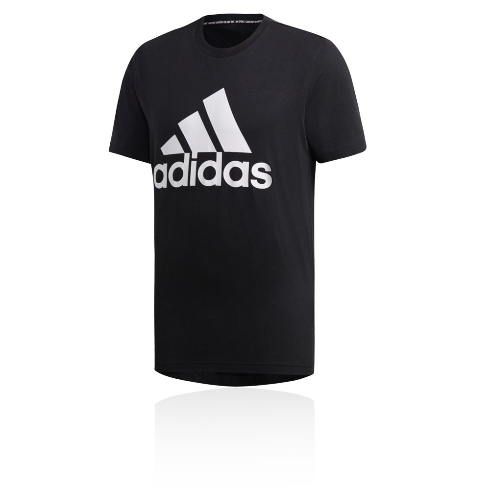 f634379a50753d Details about adidas Mens Must Haves Badge of Sport T Shirt Tee Black Sports  Gym Running