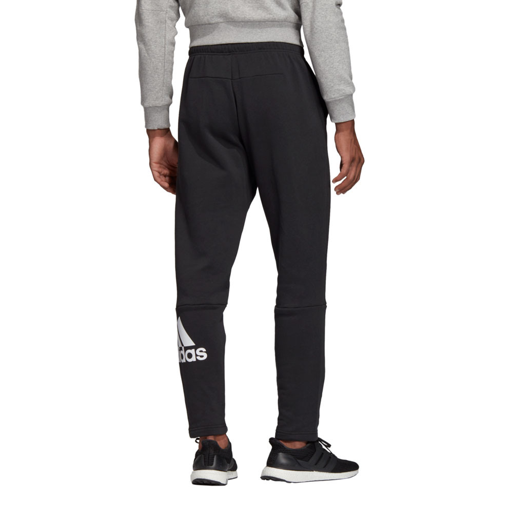 Détails sur Adidas Hommes Must Haves Badges Of Sport Tape Compression Pantalon Noir