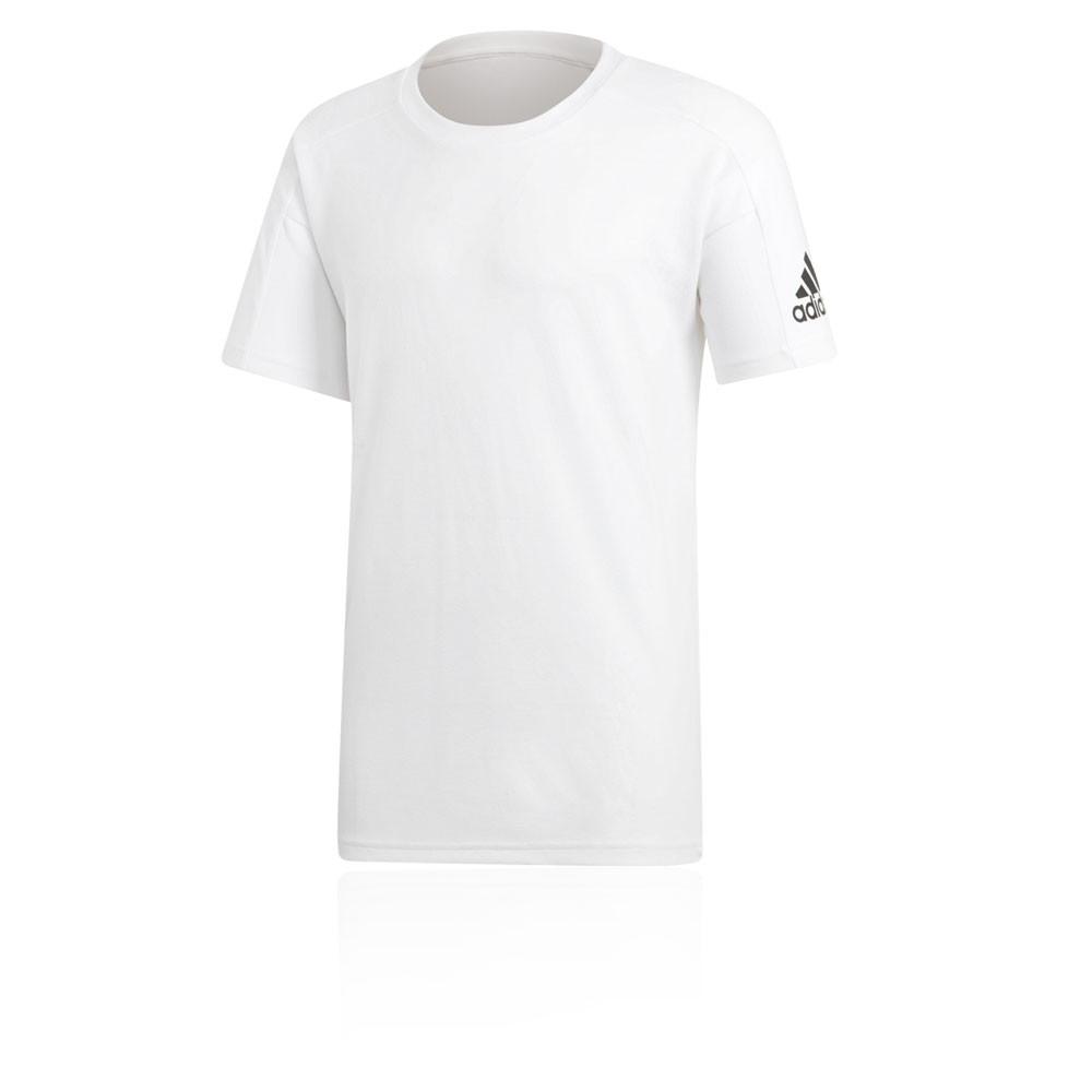 Détails sur Adidas Hommes Id Stadium T Shirt Tee Top Blanc Sport Gym Extérieur Jogging
