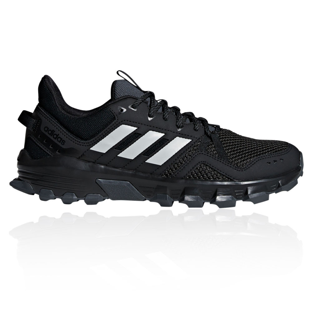 new styles 84825 19bd7 Details about adidas Mens Rockadia Trail Running Shoes Trainers Sneakers  Black Sports