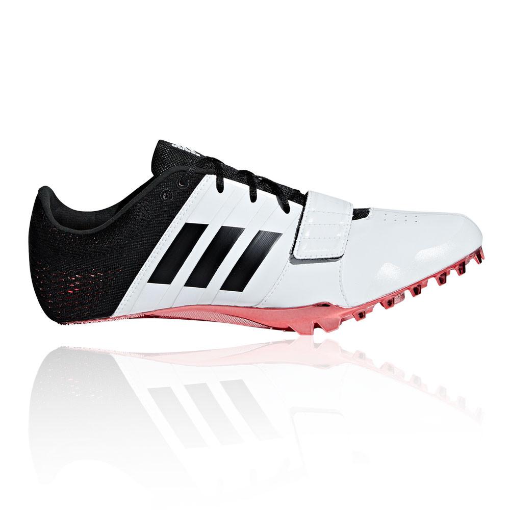 Dettagli su adidas Uomo Adizero Accelerator Scarpe Chiodate Da Corsa Ginnastica Nero Bianco