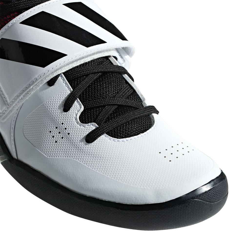 052cad5371db6c adidas Unisex Adizero Discus Hammer Leichtathletik Schuhe Schwarz Rot Weiß  Sport