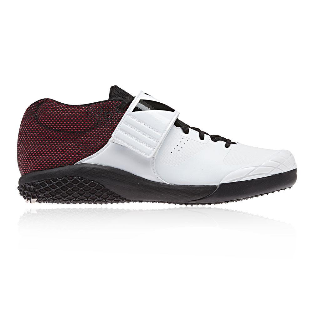best service 55568 19b46 adidas Unisex Adizero Javelin Spikes White Sports Breathable Lightweight
