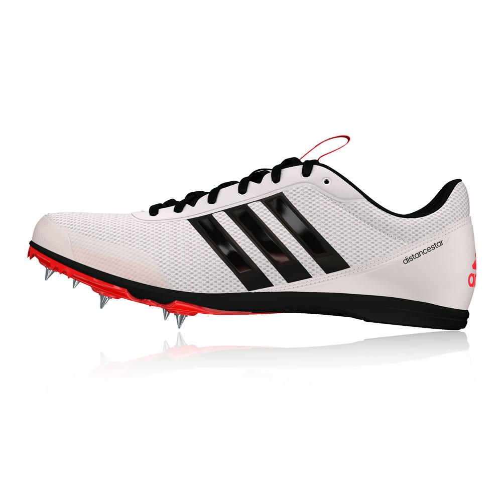 best website 6a362 b4f31 adidas Uomo Distancestar Scarpe Chiodate Da Corsa Ginnastica Bianco Sport