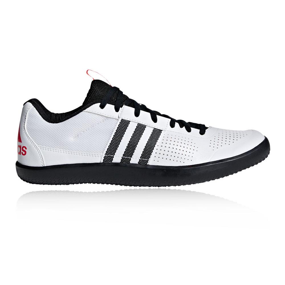 cheap for discount 4a820 05a65 adidas Uomo Throwstar Track and Field Scarpe Da Ginnastica Bianco Sport  Leggero