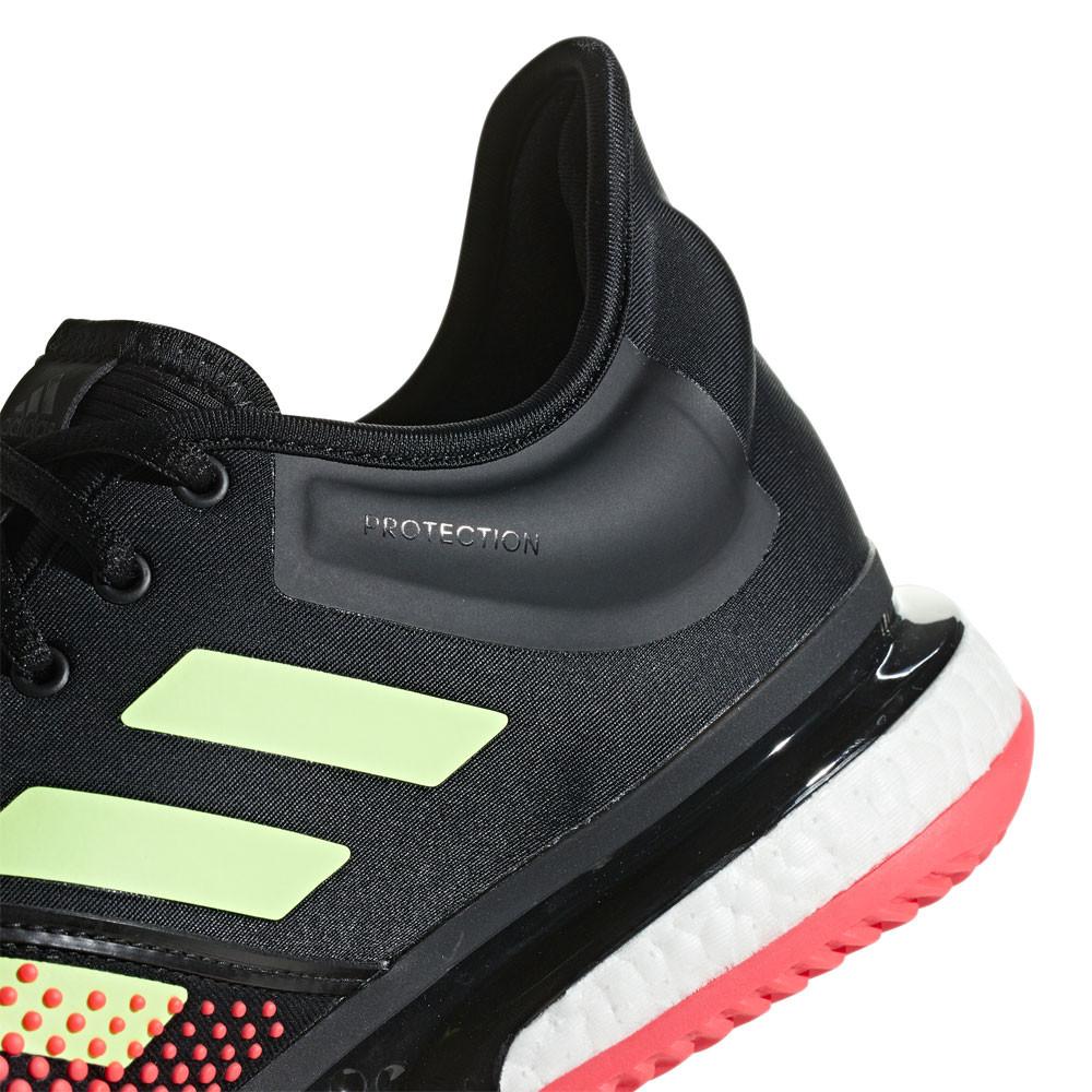 adidas Uomo SoleCourt Boost Scarpe Da Tennis Ginnastica Nero