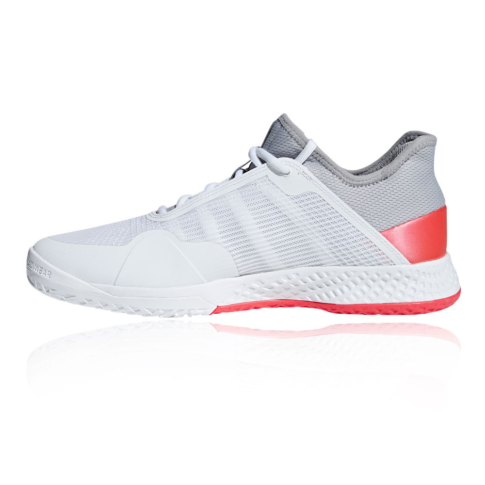 meet c9957 c3eed adidas Mens Adizero Club Tennis Shoes White Sports Breathable Lightweight