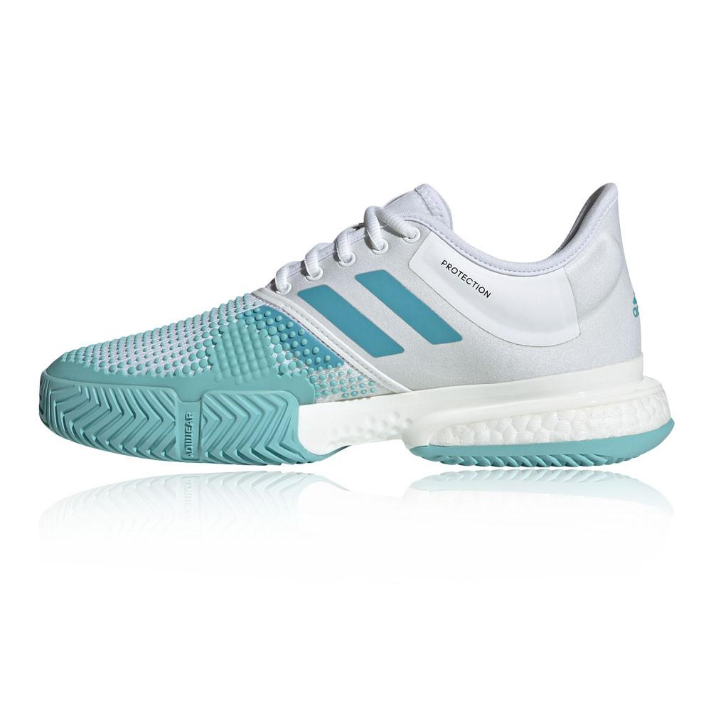 Adidas Femmes Sole Court M X Parley Tennis Chaussures De