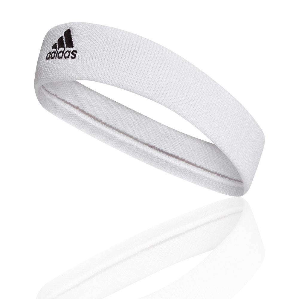 296f34f4a5dd55 Finished with a contrasting embroidered adidas Badge of Sport the adidas  Tennis Headband will have you sweating in style next match day.