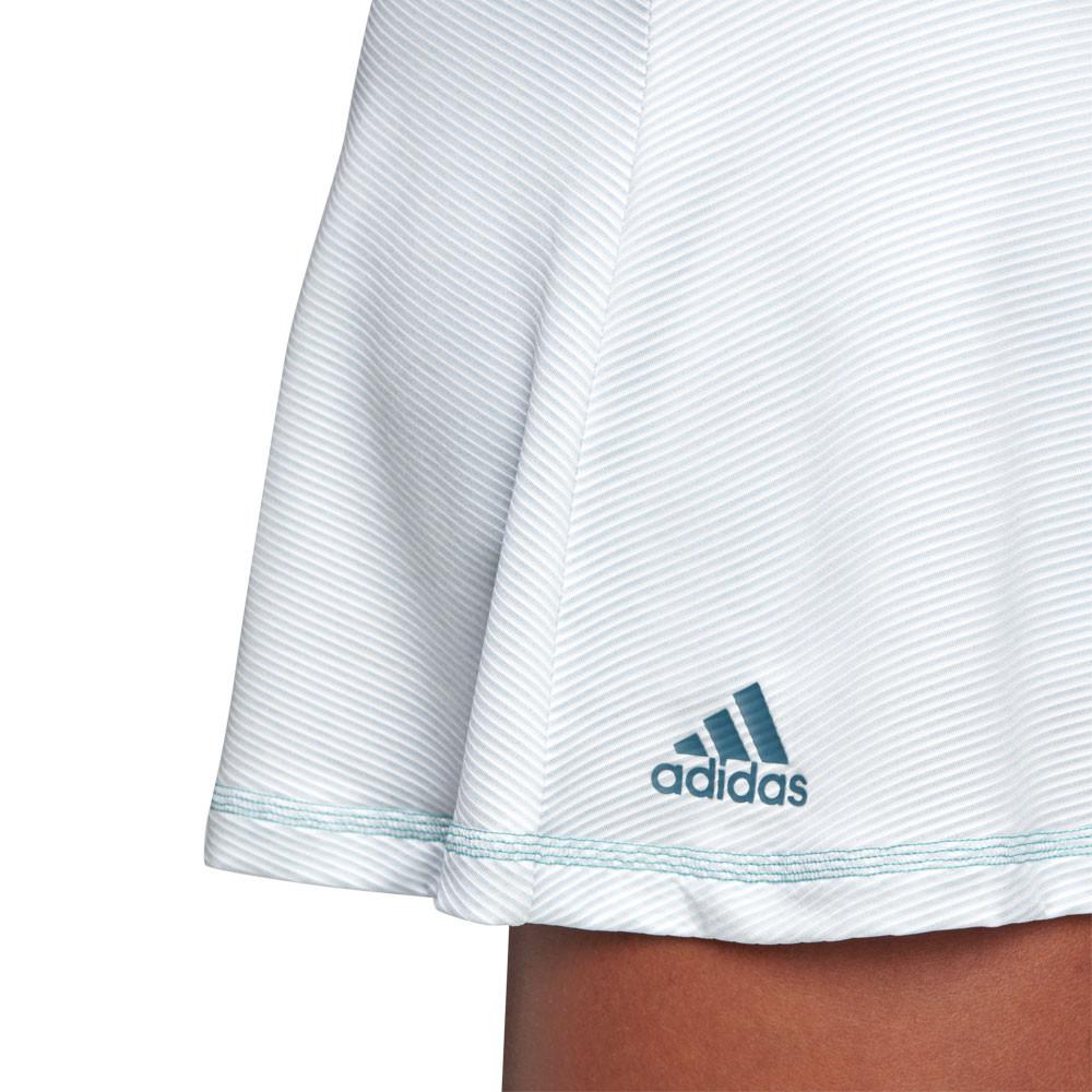 18f9d13810c1 adidas Donna Parley Gonna Da Tennis Bianco Sport Traspirante Leggera ...