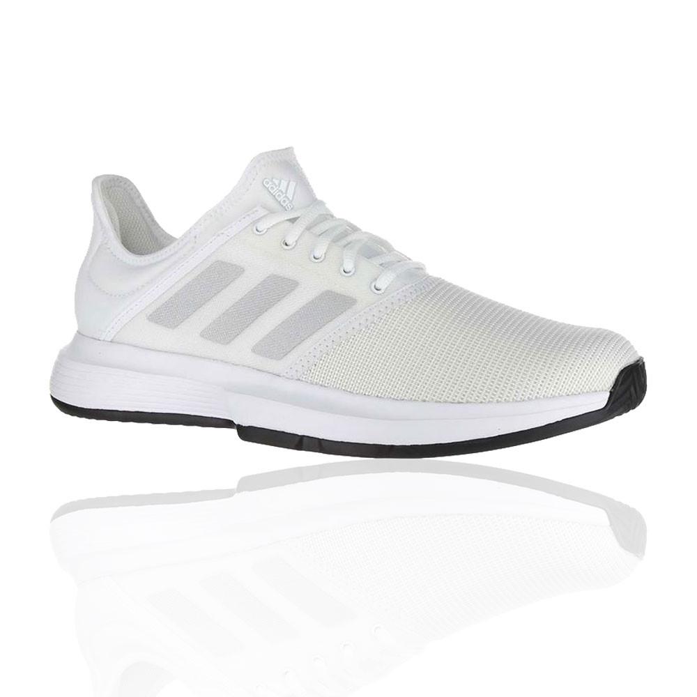 sale retailer 98d39 55f38 adidas Uomo Game Court Scarpe Da Tennis Ginnastica Bianco Sport Traspiranti