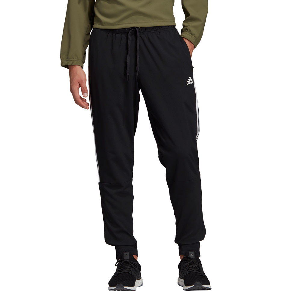 6fba97f1a597 Details about adidas Mens Sport ID Tiro Woven Pants Trousers Bottoms Black  Sports Football Gym