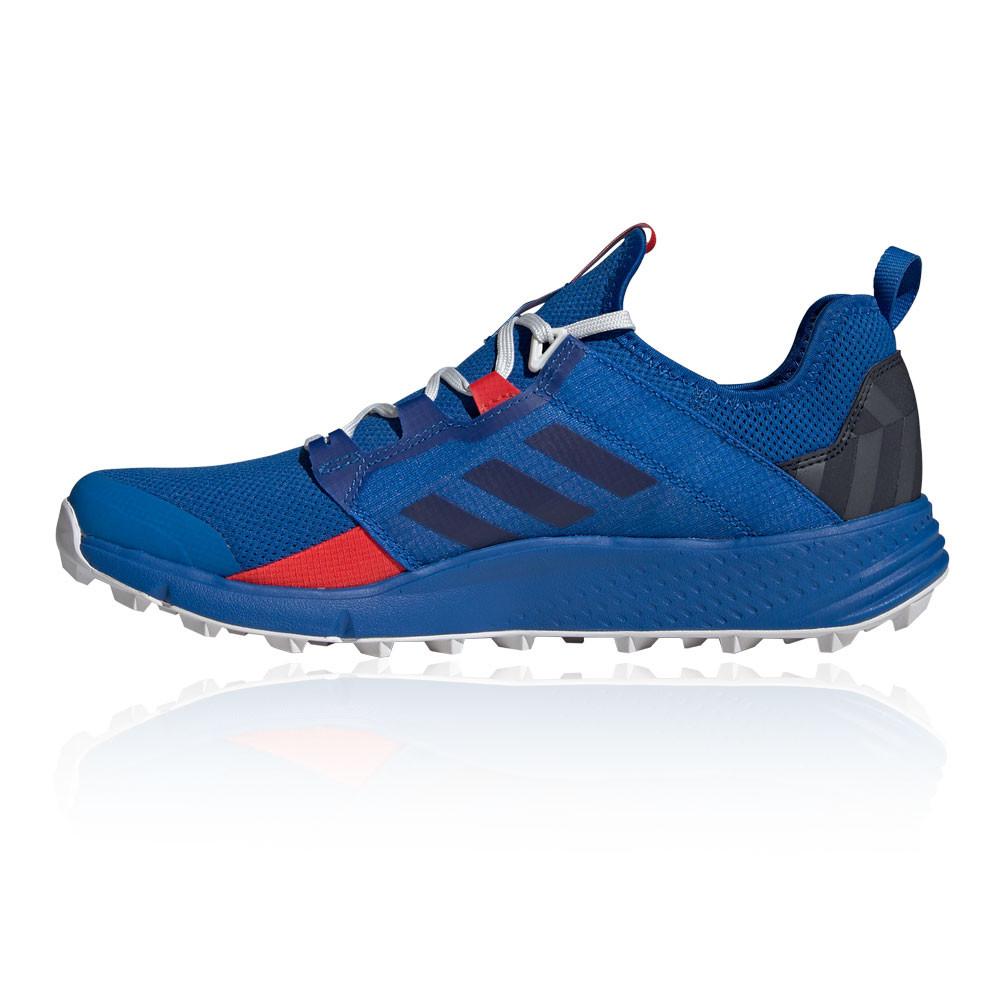Détails sur adidas Homme Terrex Agravic Speed Ld Trail Chaussures Course À Pied Baskets Bleu