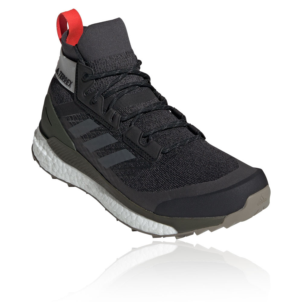 c316a4deca Detalles acerca de Adidas Hombres Zapatos para Caminar Terrex Free  Excursionista Negro Verde Deportes al Aire Libre- mostrar título original