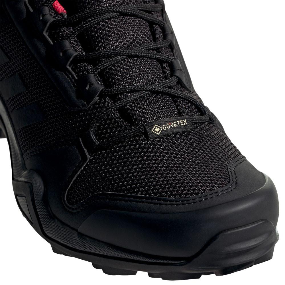 26d1f6bb751f6 adidas Womens Terrex AX3 GORE-TEX Walking Shoes Black Sports Outdoors  Breathable