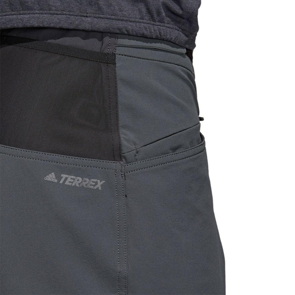 Details about adidas Mens Terrex TrailX Bermuda Shorts Pants Trousers Bottoms Grey Sports