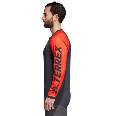 adidas Terrex Trail Cross Long Sleeve Top - SS19