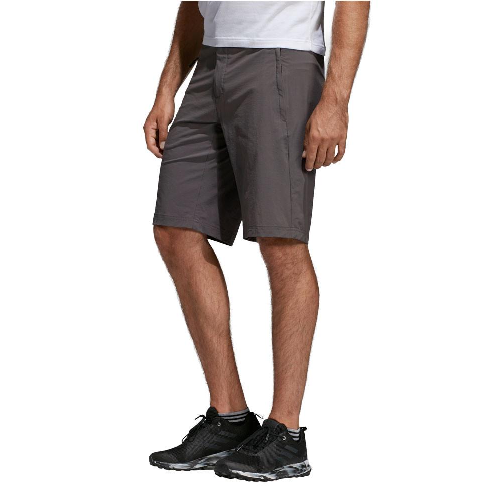 Details zu adidas Herren Terrex LiteFlex Shorts Kurze Hose Trekking Outdoorhose Grau Sport