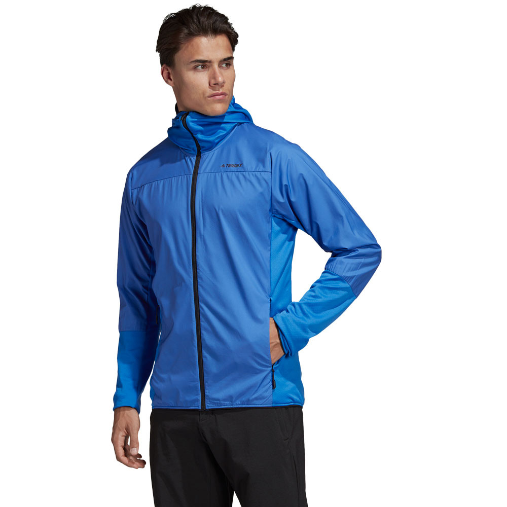 adidas Terrex Skyclimb Fleece Jacket Blue | adidas US